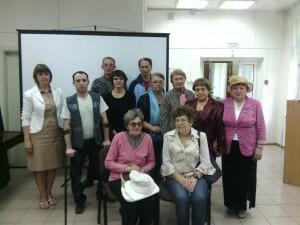 Коллективное фото с инвалидами