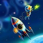 Космическая эстафета