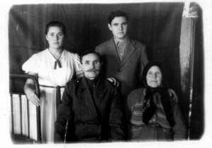 семья Лесниковых