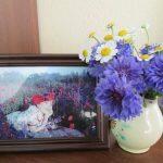 Цветочный день рождения Натальи Абрамцевой